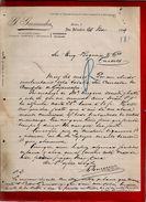 Courrier Espagne G. Garmendia Elcano San Sebastian Saint Sébastien 24-11?-1899 - écrit En Espagnol - Espagne