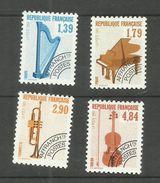 France Préoblitérés N°202 à 205 Neufs**  Cote 7.65 Euros - 1989-....