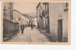 Piane Crati  Corso Garibaldi 1954 Animata - Cosenza