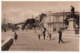 Royan : Boulevard Lessore Et Le Quai (Edit. LL N°76) - Royan