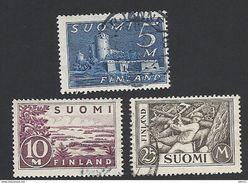 Finnland, 1930, Mi.-Nr. 155-157, Gestempelt - Finnland