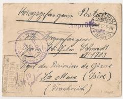LA MURE Isère Puis HOP 50  EMBRUN DEPOT De PRISONNIERS DE GUERRE. Origine GRIESHEIM. - Guerre De 1914-18