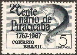 BRAZIL #1054  -  CITY OF PIRACICABA - 2nd  CENTENNARY -  1967 - Brazil