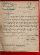 Courrier Espagne Fabrica De Jabones Savon Segundo Cardena Gardena ? Garibay ? Vitoria 2-08-1899 - écrit En Espagnol - Espagne