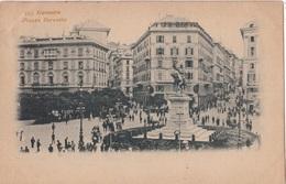 GENOVA - PIAZZA CORVETTO  VG   AUTENTICA 100% - Genova