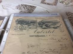 55 LIGNY EN BARROIS  Meuse     AUBERTEL  Fabricant De Chaussures Er Chaussons  6/10/17 - 1800 – 1899
