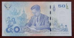 50 Baht König Bhumibol Thailand 20.9.2017 UNC - Thaïlande