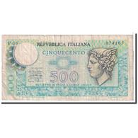 Italie, 500 Lire, 1974-1979, KM:94, 1974-02-14, TB - 500 Lire