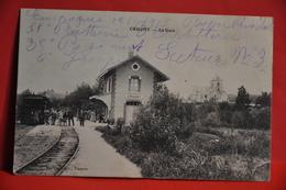 Crugny - La Gare - Frankreich