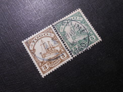 D.R.7/8  3/5Pf  Deutsche Kolonien (TOGO) 1900  Mi 3,90 € - Colony: Togo