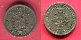 2,50 $  ( KM 77 )   TB+ 2 - Angola