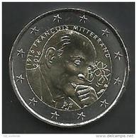 FRANKRIJK € 2 FRANCOIS MITTERRAND 2016 - France
