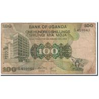 Uganda, 100 Shillings, 1973, KM:9a, B - Uganda