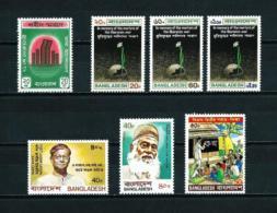 Bangladesh  Nº Yvert  17-24/6-130A-134-145  En Nuevo - Bangladesch
