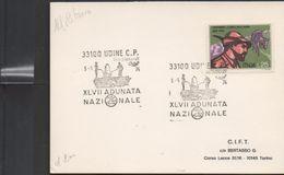 3181 Tarjeta Udine C.P. Adunata Nazi Nale  Alpini 1974 - 1971-80: Marcophilie