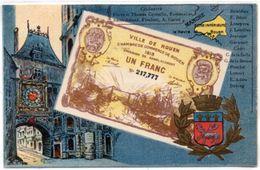 Monnaie (Billet) Ville De ROUEN (Chambre De Commerce)  (100326) - Monnaies (représentations)