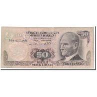 Turquie, 50 Lira, 1976, KM:188, B - Turchia