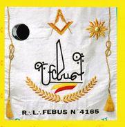 63 - FRANC-MAÇONNERIE (MASONIC) : Carnet Adhésif LOGE MACONNIQUE Anniversaire.Tirage Limité. - Freemasonry