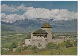 LIECHTENSTEIN, Castle Of Vaduz, Swiss Mountains In The Background, Unused Postcard [20633] - Liechtenstein