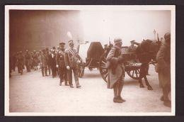Funérailles Du Maréchal Foch 26 Mars 1929 Cpa Les Cordons Du Poele Maréchal Caviglia Général Pershing - Funeral