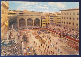 GIUOCO DEL CALCIO IN COSTUME - Firenze Piazza Della Signoria - Calcio Fiorentino Vg - Giochi Regionali