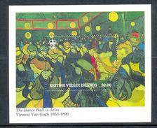 BRITISH VIRGIN ISLANDS 1991 BLOCK 1v VINCENT VAN GOGH PAINTING ART PAINTER MNH - Britse Maagdeneilanden