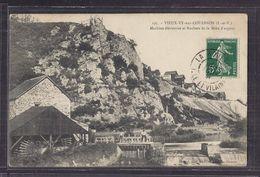 CPA 35 - VIEUX-VY-sur-COUESNON - Machine élévatoire Et Rochers De La Mine D' Argent - TB PLAN INDUSTRIE ROUE MOULIN - Andere Gemeenten