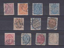 Danemark / Lot De Timbres Anciens - 1864-04 (Christian IX)