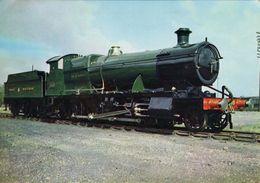Railway Postcard GWR 28xx 2818 Great Western 2-8-0 Loco - Trains