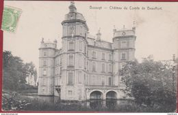 Avelgem Bossuit Bossuyt Le Chateau Du Compte De Beauffort ZELDZAAM 1910 Taxzegel - Avelgem