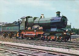 Railway Postcard GWR 3440 City Of Truro Swindon Works Great Western 4-4-0 Loco - Trains