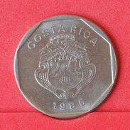 COSTA RICA 10 COLONES 1985 -    KM# 215,2 - (Nº19030) - Costa Rica
