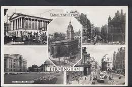 Warwickshire Postcard - Good Wishes From Birmingham DC710 - Birmingham