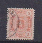 Finlande  / N 14   / 5 P. Orange / Oblitéré - 1856-1917 Administration Russe