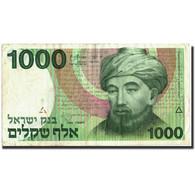 Israel, 1000 Sheqalim, 1983, 1983, KM:49a, TTB+ - Israel