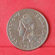 POLYNESIA 10 FRANCS 1982 -    KM# 8 - (Nº19040) - French Polynesia