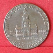 USA 1/2 DOLLAR 1976 -    KM# 205 - (Nº19048) - Federal Issues
