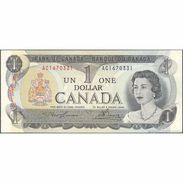 TWN - CANADA 85a1 - 1 Dollar 1973 Prefix AC - Signatures: Lawson & Bouey AU/UNC - Canada