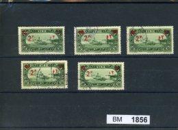 BM1856, Syrien, O, 310 Z.T Mit Aufdruckbesonderheiten - Syrie
