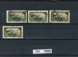 BM1859, Syrien, O, 311 Z.T Mit Aufdruckbesonderheiten - Syrie