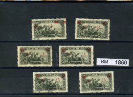 BM1860, Syrien, O, 311 Z.T Mit Aufdruckbesonderheiten - Syrie