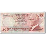 Turquie, 20 Lira, 1974, KM:187b, TB+ - Turchia