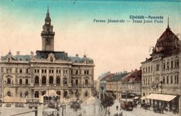 SERBIE UJVIDEK NEUSATZ FERENC JOZSEF-TER (CARTE COLORISEE) - Serbia