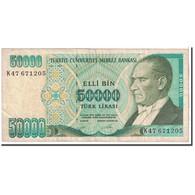 Turquie, 50,000 Lira, 1970, KM:204, TB - Turchia