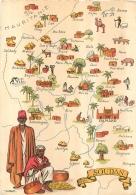 SOUDAN CARTE AVEC  LES VILLES - Sudan