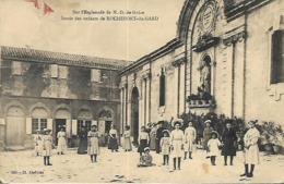 Rochefort-du-Gard - Sur L' Esplanade De Notre Dame De Grâce - Sortie Des Enfants - Rochefort-du-Gard