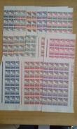 NCE Taxe N° 26 à 38 Neuf Gomme Coloniale En Blocs De 25 - 6 Timbres Avec Point De Rouille - Cote 425€ - Portomarken