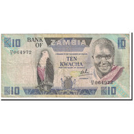 Zambie, 10 Kwacha, 1980-1988, KM:26d, TB - Zambia