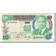 Kenya, 10 Shillings, 1988, 1988-07-01, KM:20g, TTB - Kenya