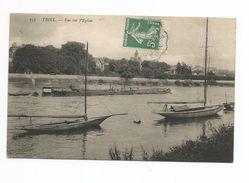 78 - Triel - Vue Sur L'eglise - Triel Sur Seine